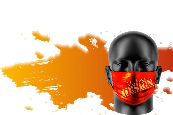 masque catégorie 1 logo entreprise